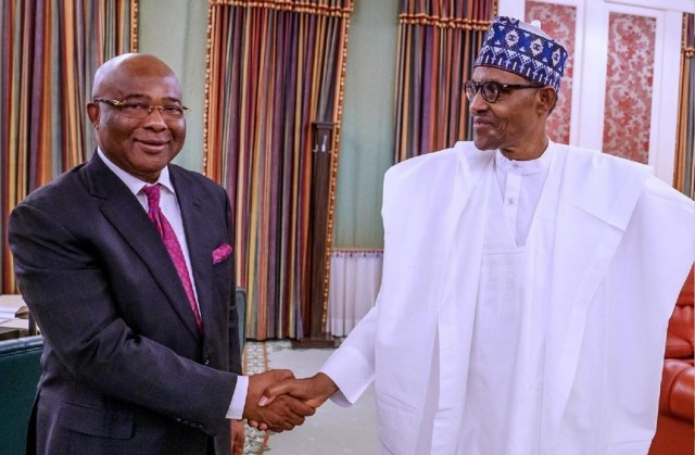 Imo is financially distressed ? Uzodinma