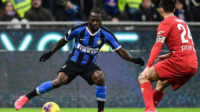 Inter Milan hope to extend Victor Moses' loan from Chelsea