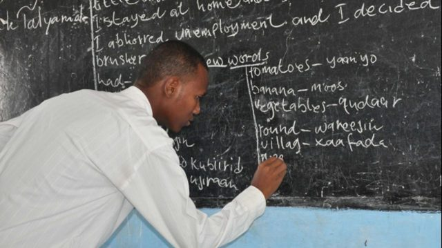 World Teacher's day: Buhari changes teachers retirement age from 35 to 40, approves special salary