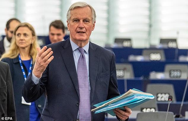 European Union chief Brexit negotiator Michel Barnier tests positive for coronavirus