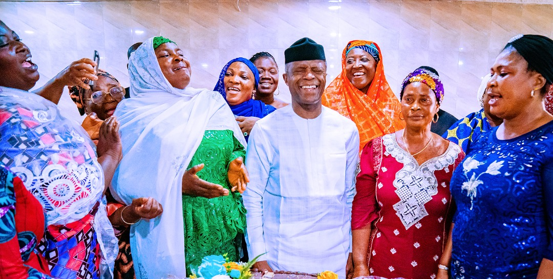 How Abuja Women Threw Surprise Birthday Party For Osinbajo
