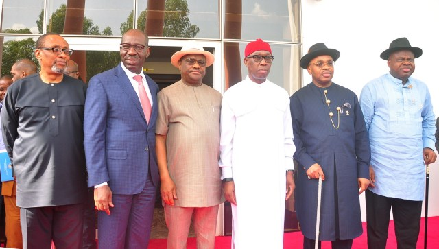 Obaseki, Okowa, other south-south govs meet, set to float regional security outfit