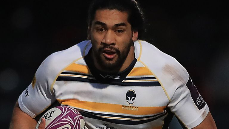 Worcester lock Michael Fatialofa begins walking unaided following serious neck injury
