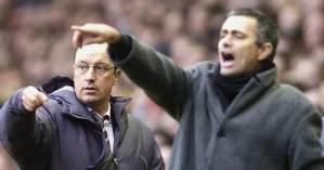 Rafa Benitez, Jose Mourinho, Liverpool, Carragher