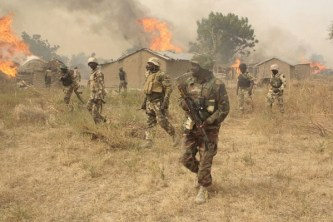 Troops kill 134 fleeing Boko Haram insurgents, nab 16 informants