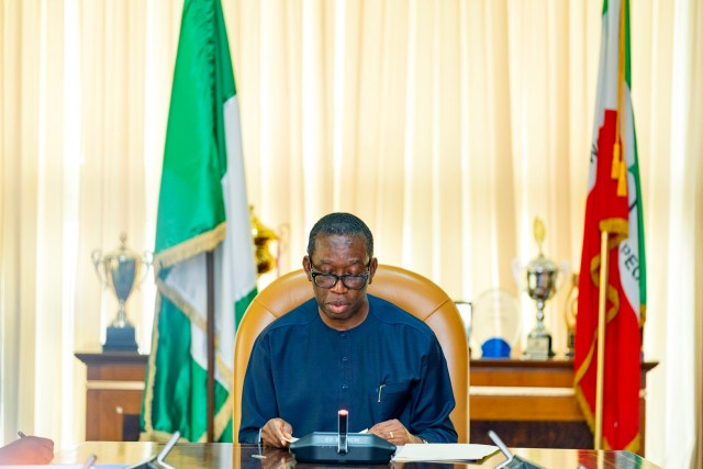 Eid-el-Fitr: Gov. Okowa felicitates with Muslims, lauds decision to pray at home