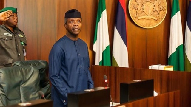 Osinbajo's office not in charge of SIP procurement — Reps