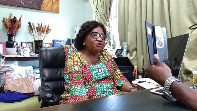 Meeting with Theresa Laja Adedoyin, Nigeria's Mother Theresa