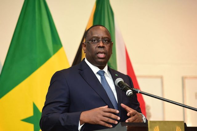 Senegal president in quarantine despite negative coronavirus test
