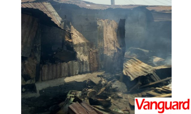 Land dispute destroyed houses in Ajah community