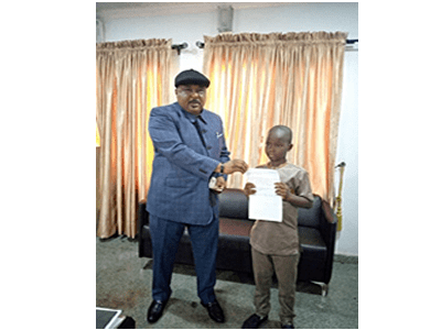 8-yr-old boy donates N1,120 to Kwara to fight COVID-19