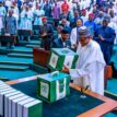 Video: Moment Buhari presented 2021 budget in NASS