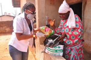 COVID-19: EDPA begins distribution of food, household items to elderly