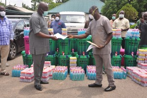 COVID-19: Edo govt lauds ASUU, 7up, others for donations