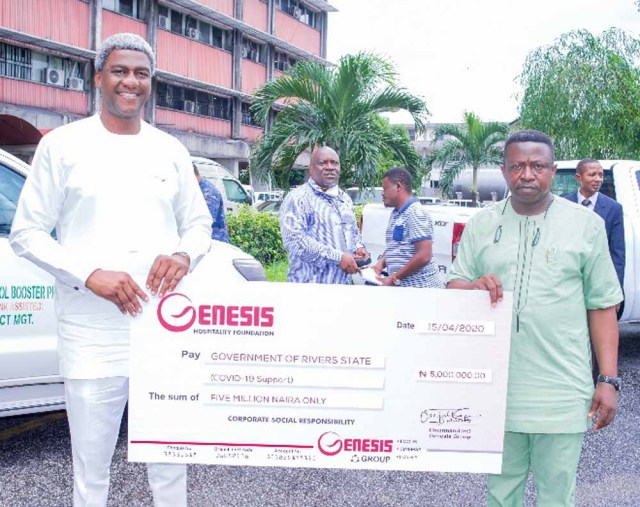 Genesis Group Nigeria Supports the Rivers State Government