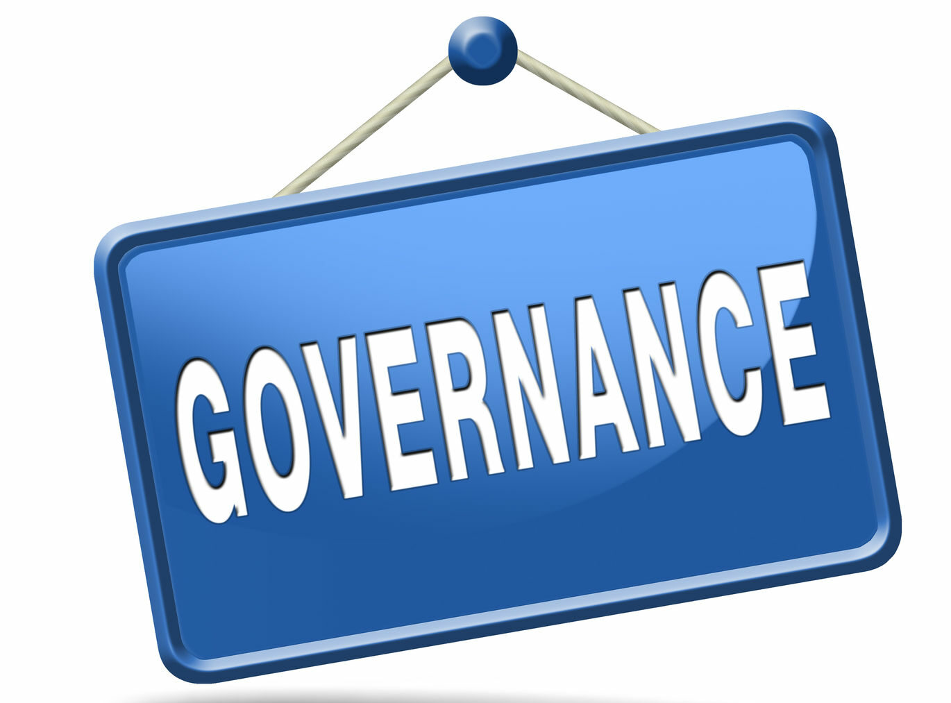 Governance not based on personal relationships