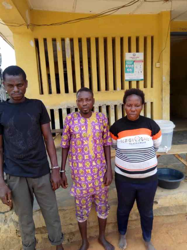 Herbalist, wife nabbed for killing stepson for ritual purpose in Ogun