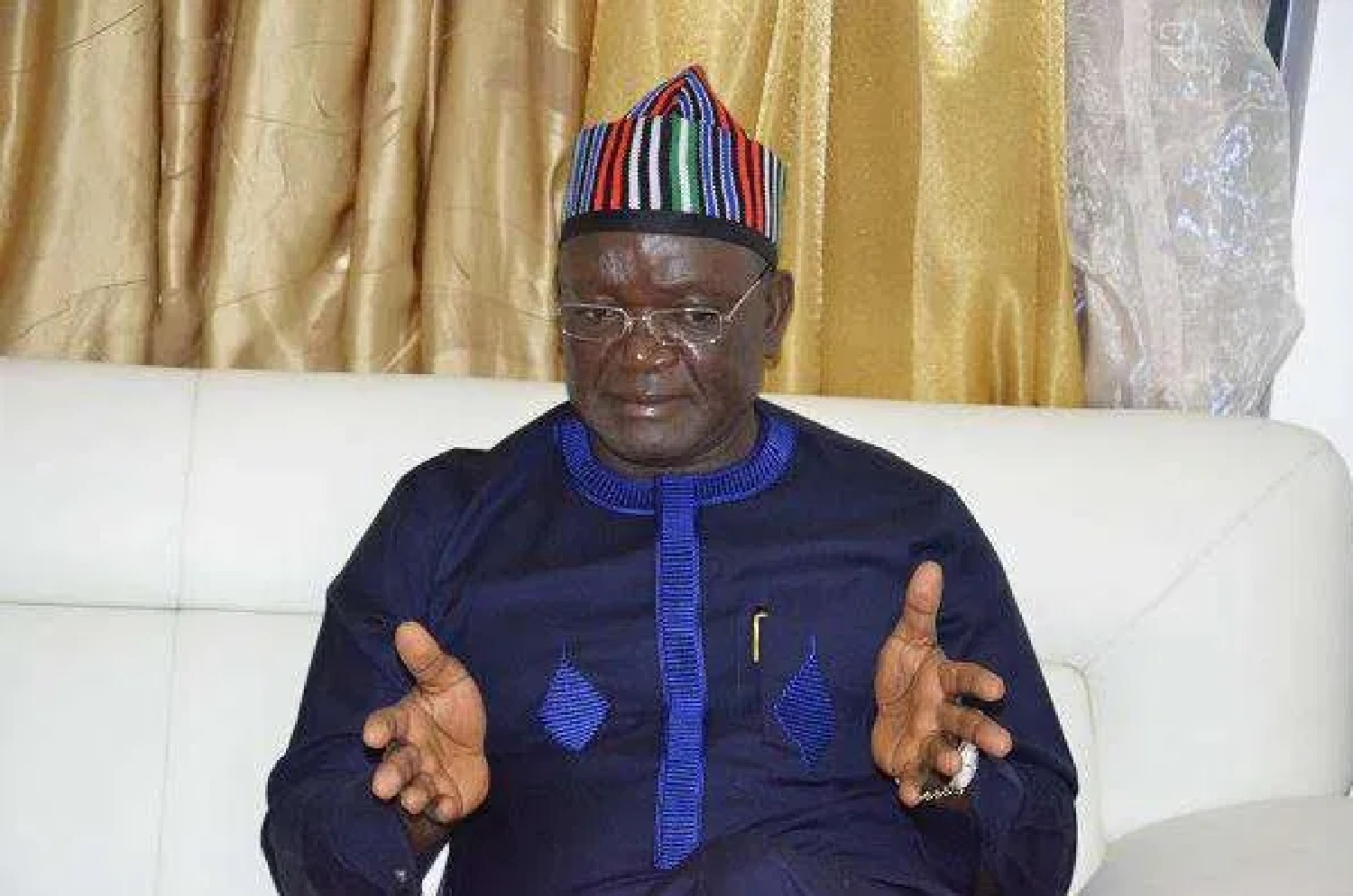 BREAKING: Benue gov's wife, son, staff tests positive for COVID-19
