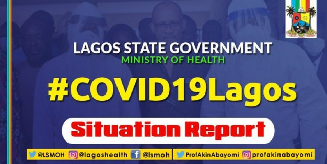 BREAKING: Lagos discharges 12 COVID-19 cases including Ukranian