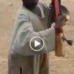 VIDEO: 7-year-old boy who has been to Sambisa demonstrates gun handling, shooting strategies