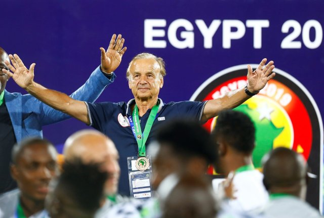 Rohr: I'll make Eagles champions of Africa again