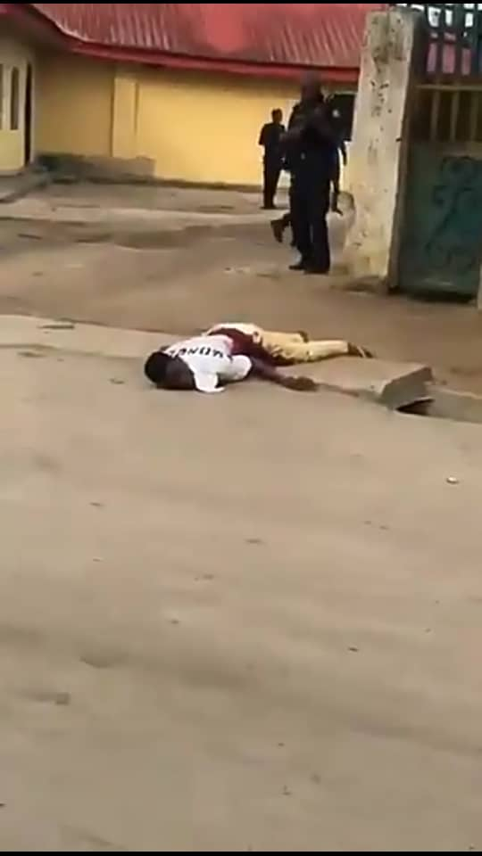 Two dead as suspected cultists invade station to free robbery suspects in Delta Community