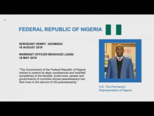Three Nigerians, 80 others get UN posthumous peacekeeping award