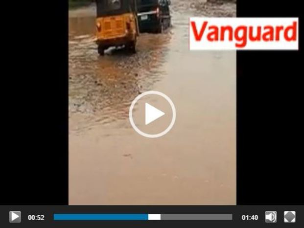 VIDEO: Aftermath Monday downpour, parts of Ikorodu flooded