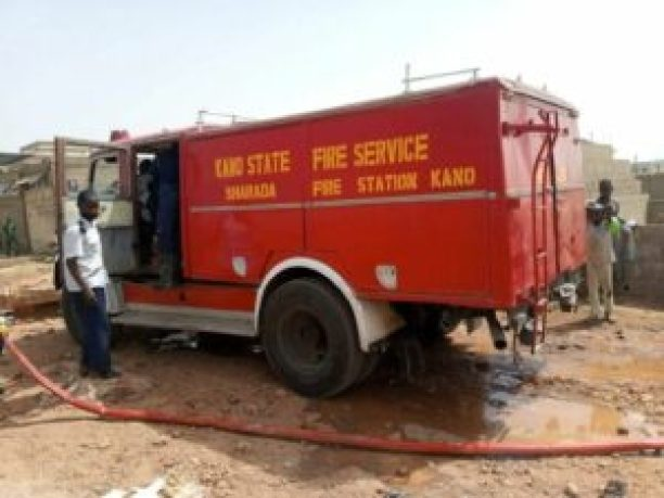 Kano State Fire Service saves 77 lives, N820m goods in one month