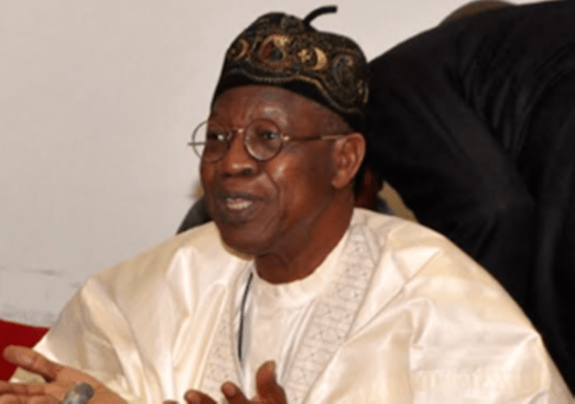 town hall meeting, national security, lai mohammed
