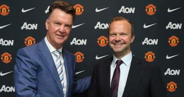 Van Gaal, Ed Woodward, Man United