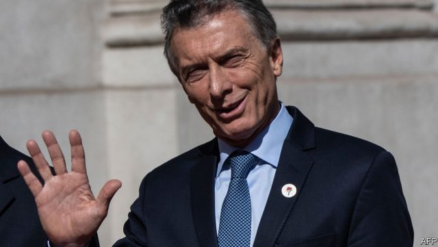 Argentina's ex-president Macri probed over 'spying'