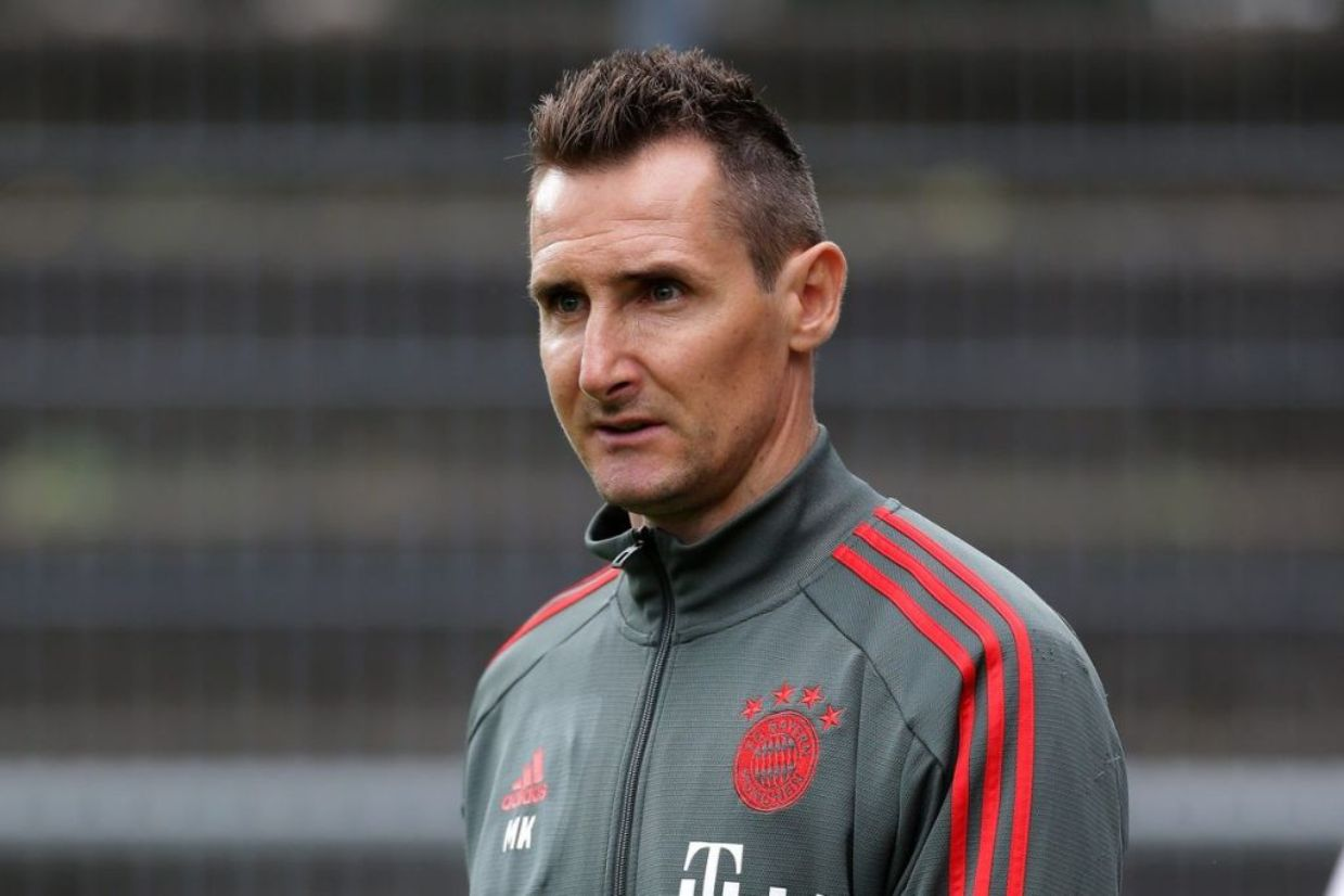 Klose appointed assistant manager at Bayern Munich