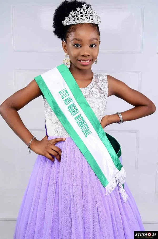 TOLUWANIMI OMOLE: Little queen standing up for children's rights