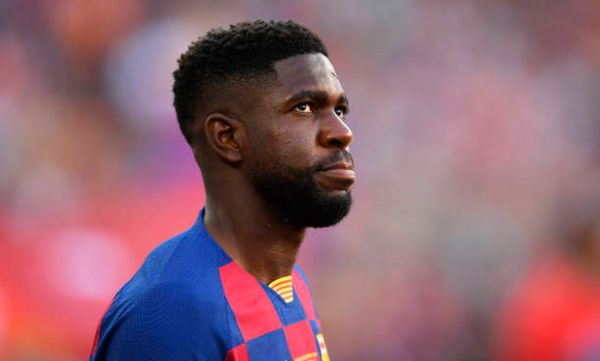 Barca's Samuel Umtiti suffers calf knock in second training session