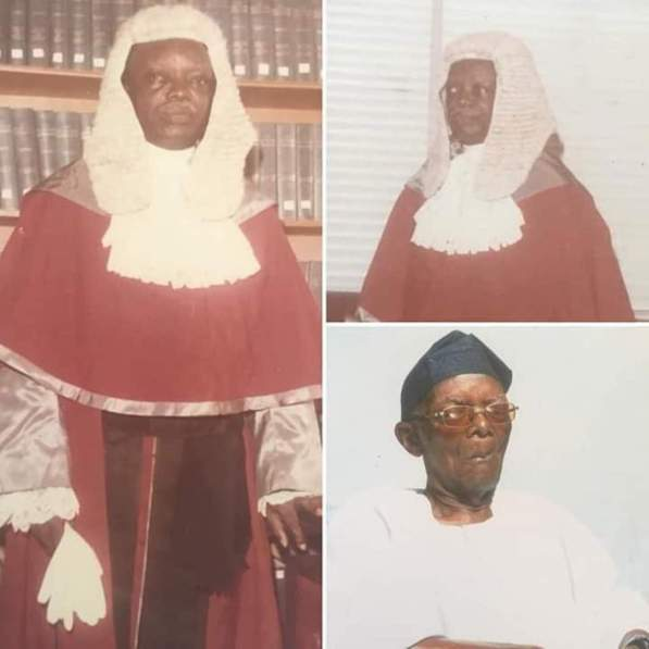 Lagos mourns death of Justice Oluwa says was 'rare bred Lagosian'