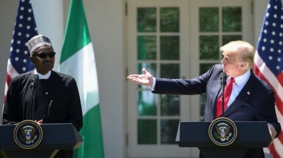 Buhari, Trump