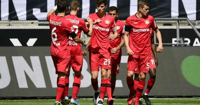 Bayer sensation Havertz strikes twice in 2-0 win over Gladbach
