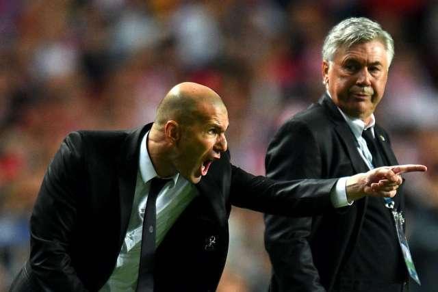 Ancelotti: Zidane. photo credit: Goal.com