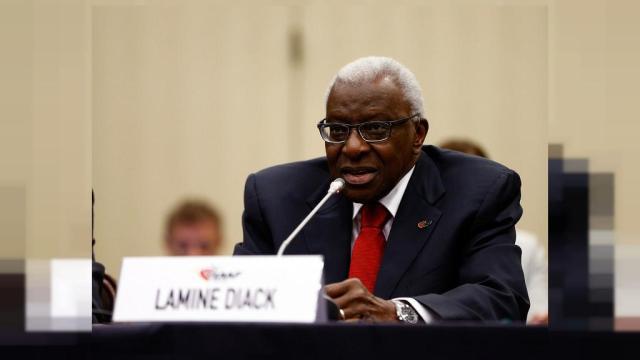 Ex-IAAF head Lamine Diack undergoes corruption trial in Paris