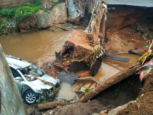 Five feared dead in Ilorin over heavy downpour, collapsed bridge