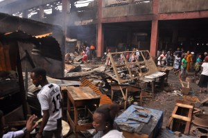 Oba Market inferno: Obaseki raises investigation c'ttee to unravel cause of incident