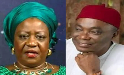 Nwaoboshi Vs Lauretta Onochie: 'I have a right for oversight functions'