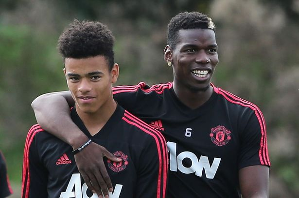 I will help push Greenwood to reach the top, says Pogba