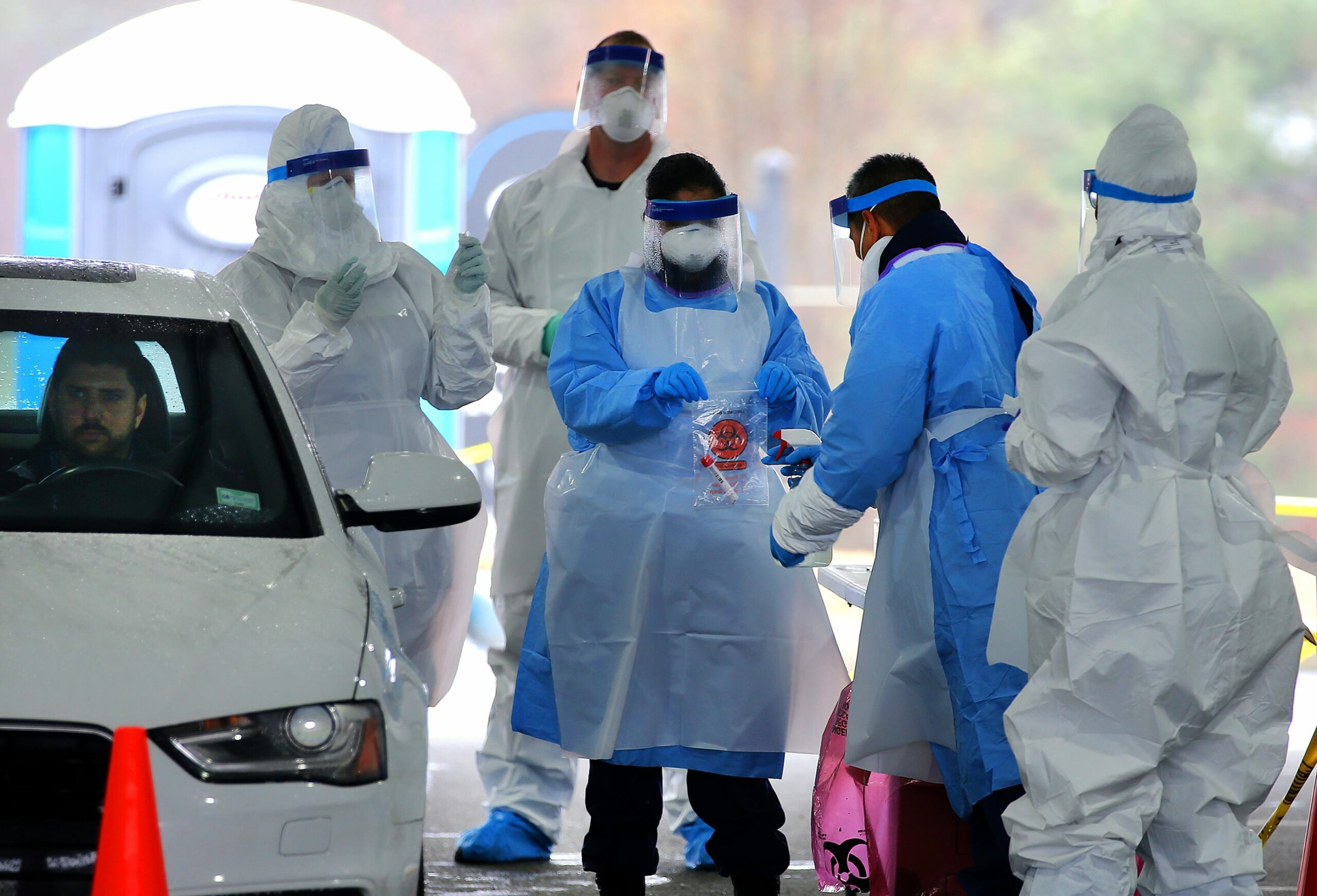 Experts say the virus 'survives on some surfaces for 28 days'