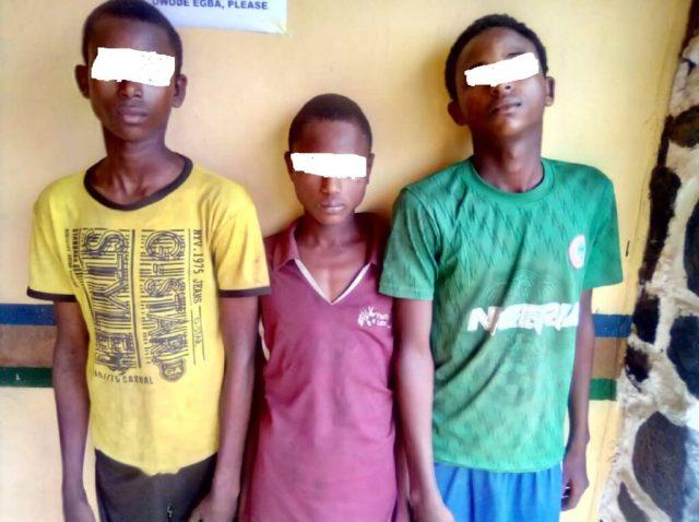 Police arrest three highway suspected robbers in Ogun