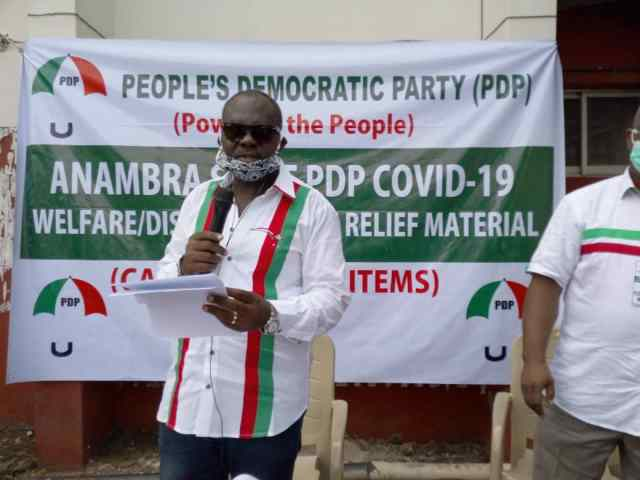 PDP intact, focuses on taking Anambra in 2021– Nwobu