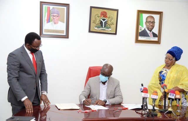 Obaseki signs N128.8bn revised 2020 Budget into law
