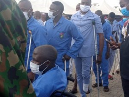 Buratai visits, dines with wounded personnel in Kaduna hospital
