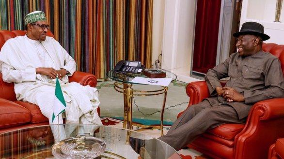 Buhari receives updates from Jonathan